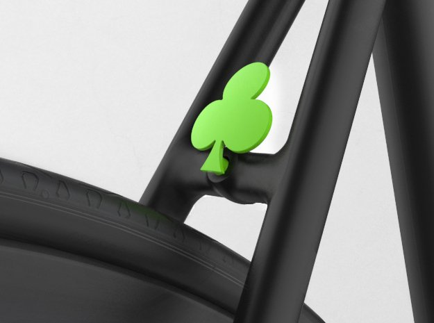 Clover in Green Processed Versatile Plastic