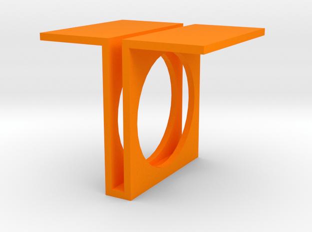 Future Trends collection - size 10 US in Orange Processed Versatile Plastic