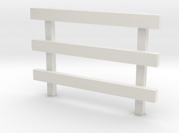 8' No Feet (1) in White Natural Versatile Plastic