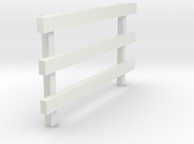 10' No Feet (1) in White Natural Versatile Plastic