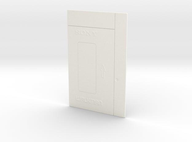 Sony Walkman TPS-L2 front panel in White Processed Versatile Plastic