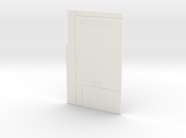 Sony Walkman TPS-L2 back panel in White Processed Versatile Plastic