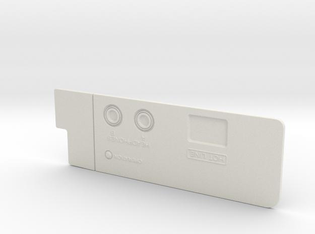 Sony Walkman TPS-L2 top panel in White Natural Versatile Plastic