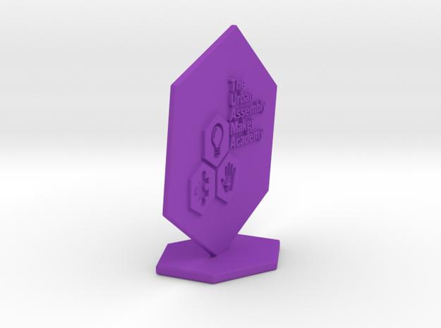 UA Maker AWARD in Purple Processed Versatile Plastic