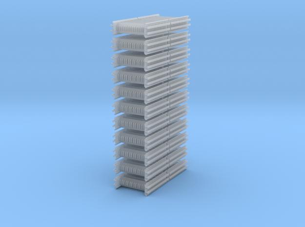 Intermediate Rack 22 Pc. in Smooth Fine Detail Plastic