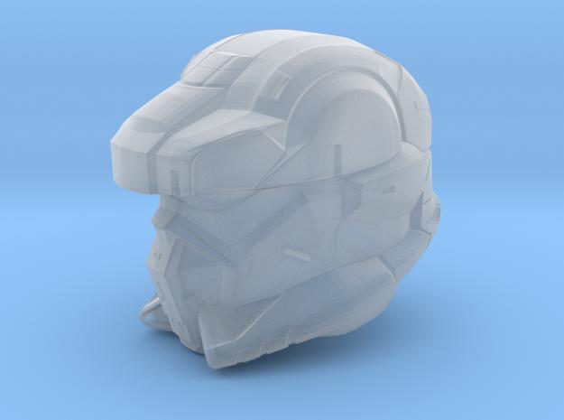 Halo 4 EOD helmet 1/6 scale helmet in Smooth Fine Detail Plastic