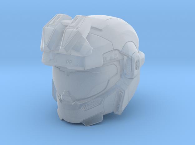halo reach grenadier/Jorge 1/6 scale Helmet in Smooth Fine Detail Plastic