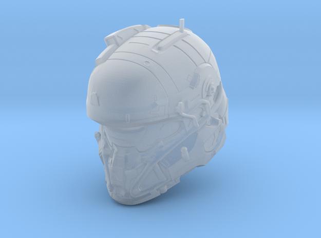 Halo 5 Tanaka/Technician 1/6 scale Helmet in Smooth Fine Detail Plastic