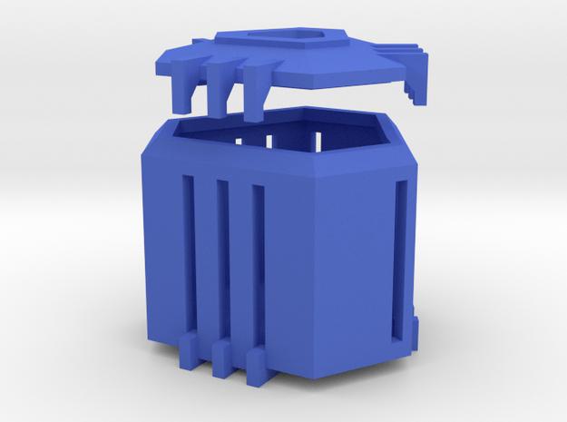 Ingress Capsule - Standard  (2.25 inches) in Blue Processed Versatile Plastic