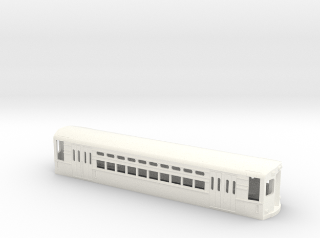 CTA 1-50 Series, Ravenswood Car in White Processed Versatile Plastic