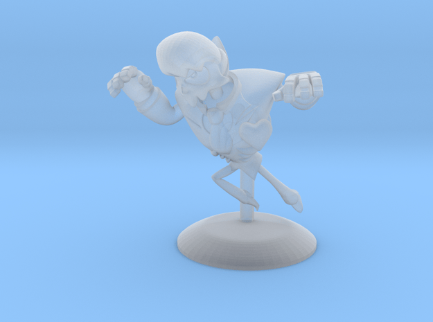 Mystery Skulls Lewis 1in in Smooth Fine Detail Plastic