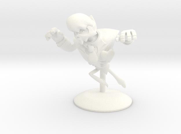 Mystery Skulls Lewis 3in in White Processed Versatile Plastic