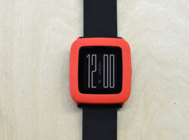 Pebble Time Steel - cover / bumper