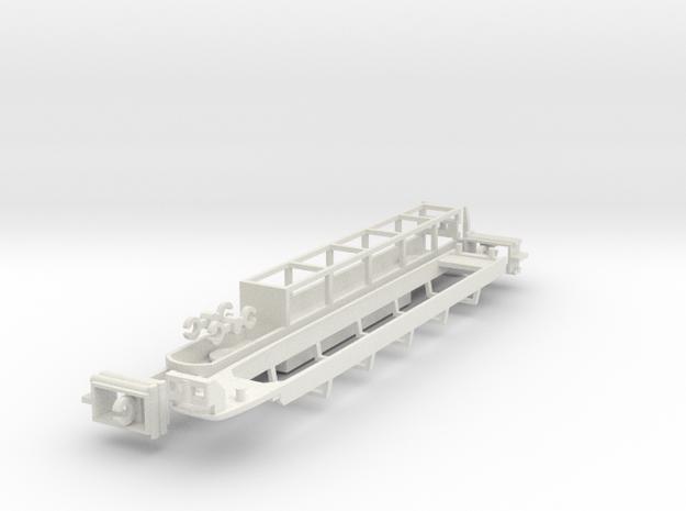 N.03B - Part B - SNCF TGV Duplex Motrice - Chas in White Natural Versatile Plastic