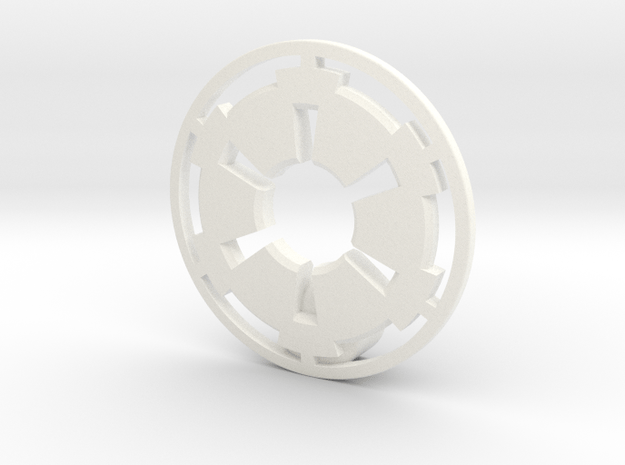 NEW! Empire NUT, for M6 x1 Screw in White Processed Versatile Plastic