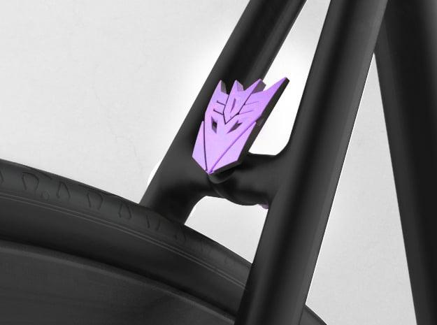 NEW! Decept NUT, for M6 x1 Screw in Purple Processed Versatile Plastic