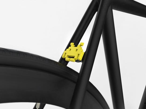 NEW! Invasion NUT, for M6 x1 Screw in Yellow Processed Versatile Plastic