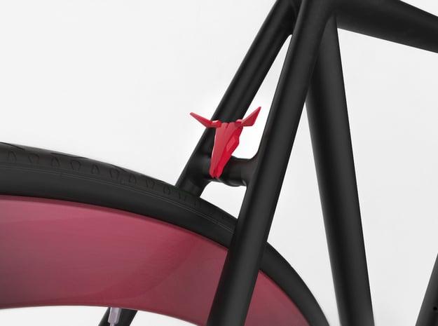 NEW! Bull NUT, for M6 x1 Screw in Red Processed Versatile Plastic