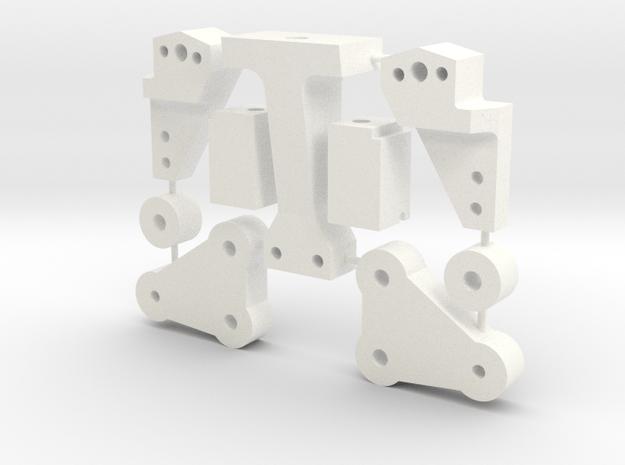 RC10 Lowering Kit in White Processed Versatile Plastic