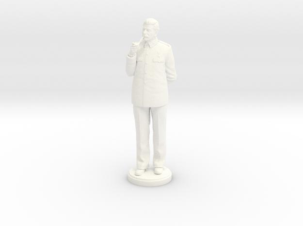 Joseph Stalin 180mm in White Processed Versatile Plastic