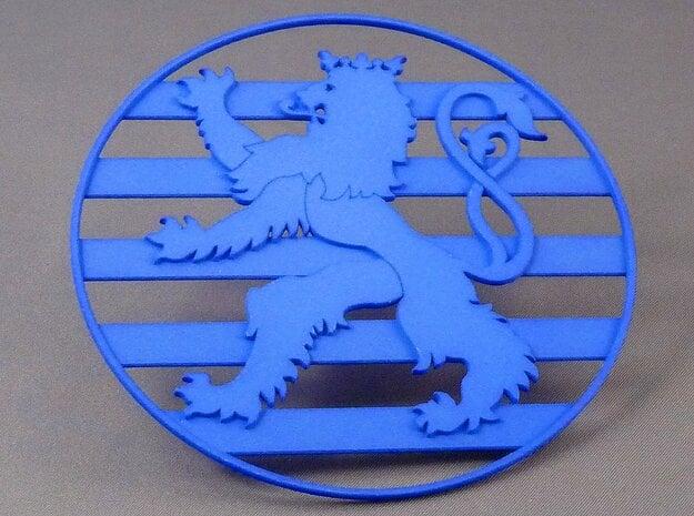 Roude Leiw Coaster in White Processed Versatile Plastic