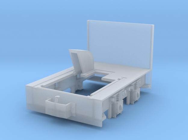 Diema DL6 Rahmen 1:22,5, Spurweite 26,7mm in Smooth Fine Detail Plastic