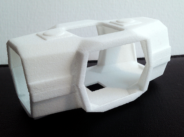 Majorette 223, V2.2 Shells in White Natural Versatile Plastic