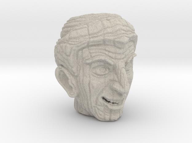 Porcelain Tiki Mug -The Alchemist  in Natural Sandstone