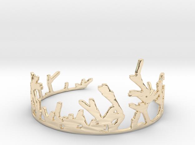 Growing Bracelet v.2 in 14K Yellow Gold