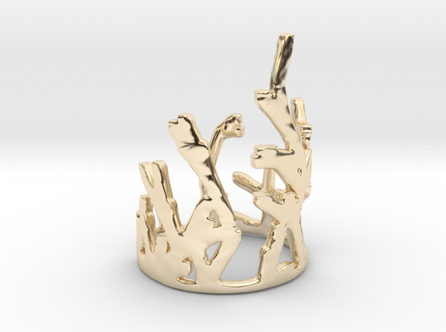 Growing Ring V2 in 14K Yellow Gold