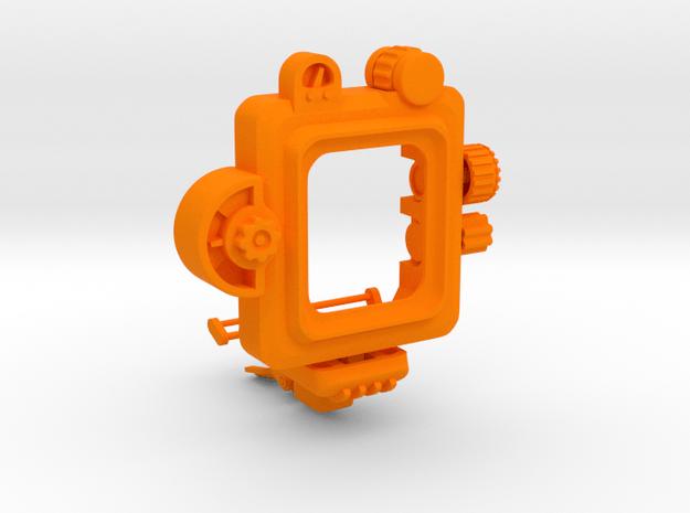 PipWatch - Apple Watch 38mm version in Orange Processed Versatile Plastic