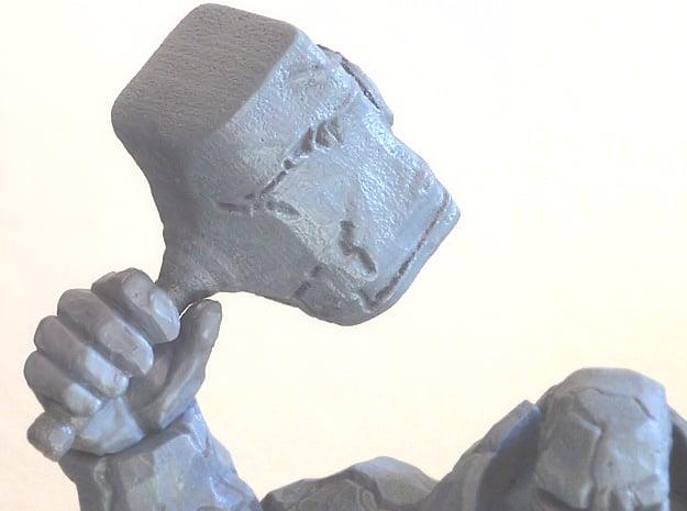Rock Hammer in White Natural Versatile Plastic