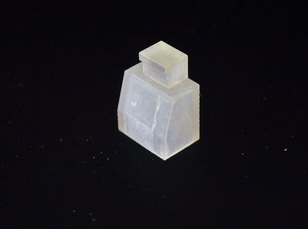 HO-Scale Slant Single Door Ice Cooler in Smooth Fine Detail Plastic