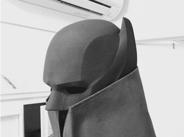 Custom Batman Cowl v2
