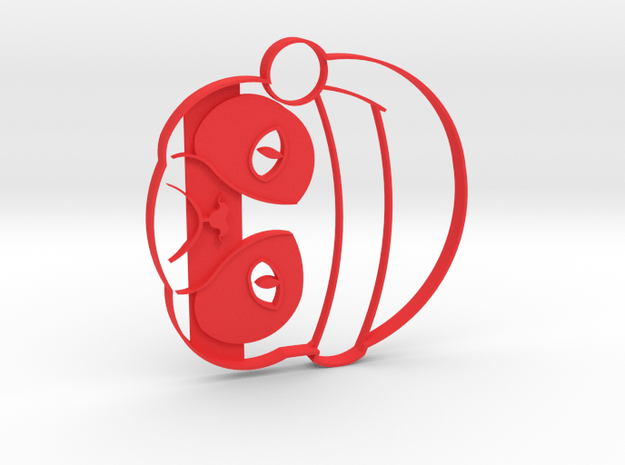 Grumpy Cat Xmas Cookie Cutter in Red Processed Versatile Plastic