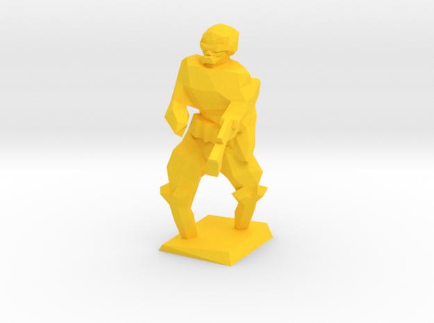 Yellow in Yellow Processed Versatile Plastic