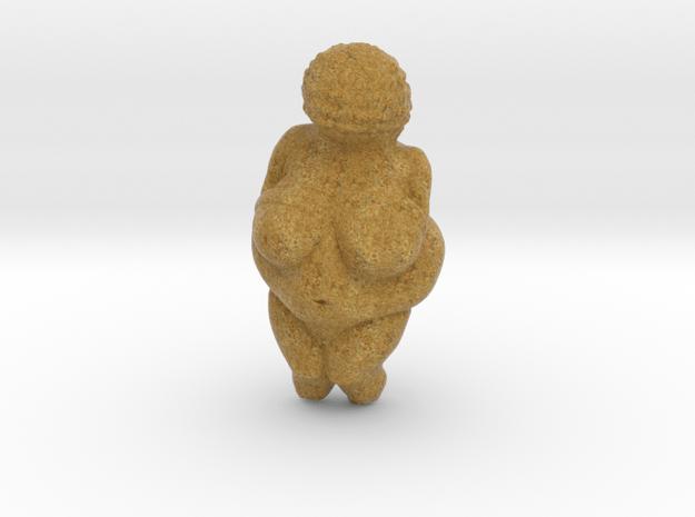Venus of Willendorf (Lifesize) in Full Color Sandstone