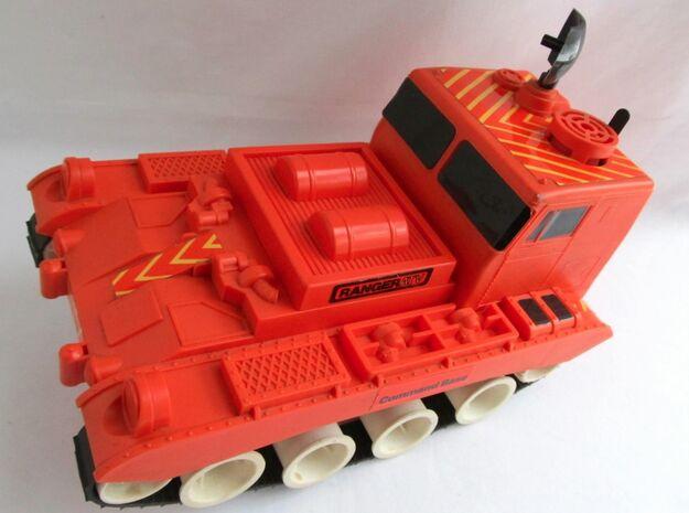 Schaper Ranger ATV Tank Bogie Wheel in White Processed Versatile Plastic