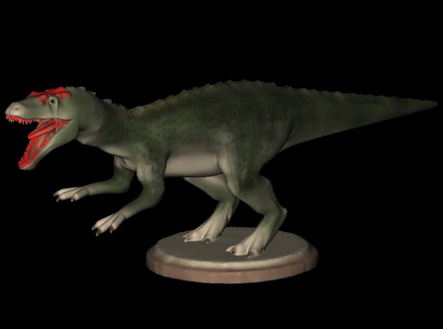 Dinosaurs World Allosaurus Full Color in Smooth Fine Detail Plastic