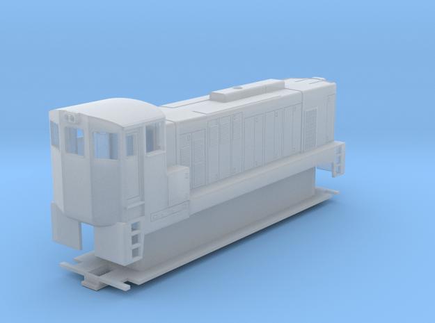HO Scale EMD GA8 w/Bachmann N Scale F7 Adapter