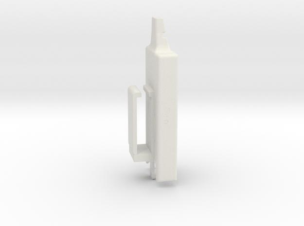 Dexcom Case w/Belt Clip in White Natural Versatile Plastic