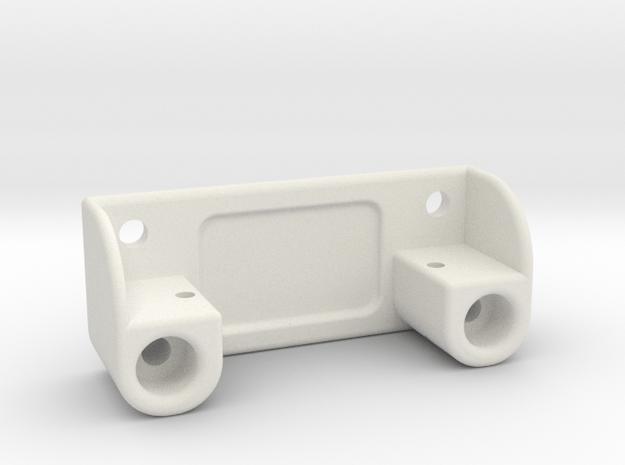 HXT900-servo support, sideways mounted in White Natural Versatile Plastic