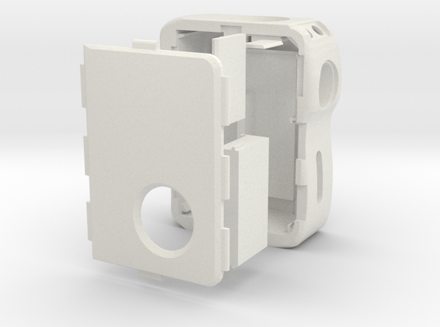 Mark X.1 in White Natural Versatile Plastic