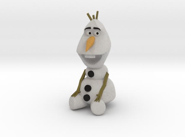Olaf in Full Color Sandstone