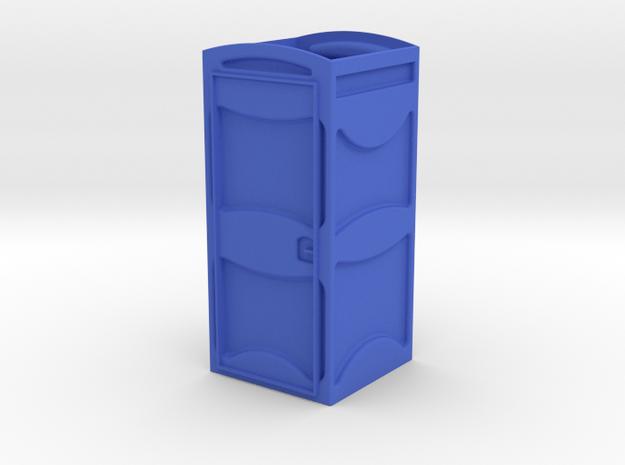 1/32 Porta-John II ~ Part 1 of 2 in Blue Processed Versatile Plastic