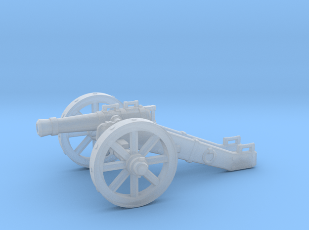 28mm Light Field Cannon in Smooth Fine Detail Plastic