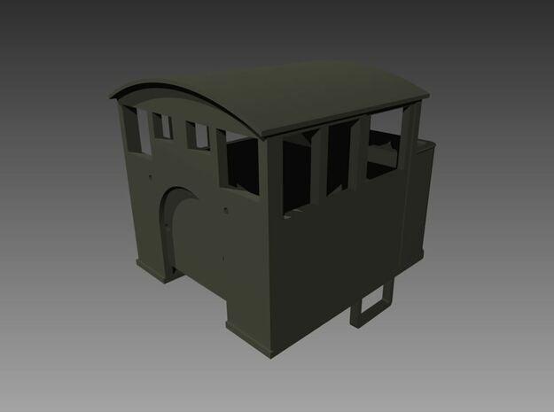 Minitrains 2-6-2 Cab Version 1  in Smooth Fine Detail Plastic