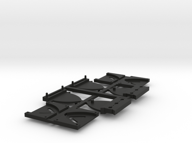 Kortkoppeling in Black Natural Versatile Plastic