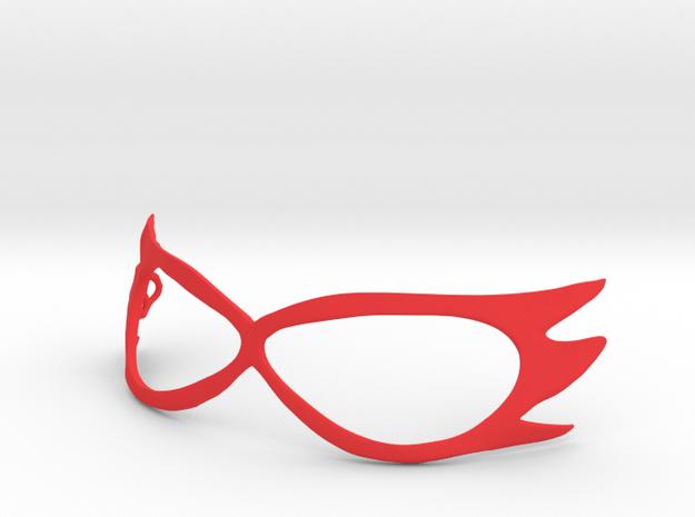 Sailor V Cosplay Mask in Red Processed Versatile Plastic
