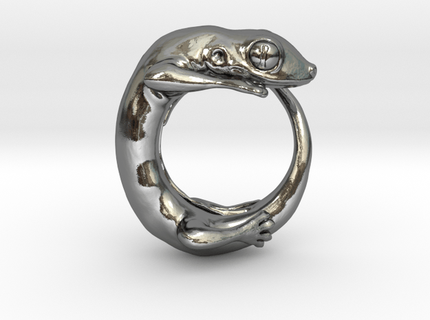 (Size 4) Gecko Ring